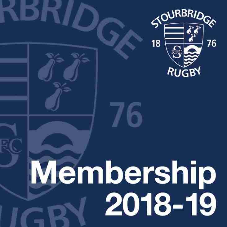 Membership 2018-19 Season