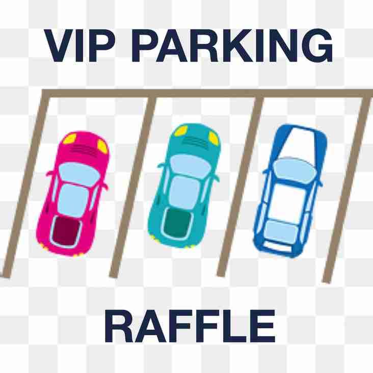 VIP Parking Raffle 2018-19