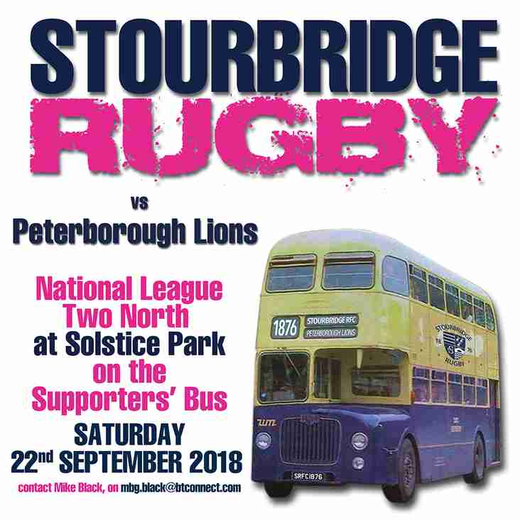 Away Coach to Peterborough Lions