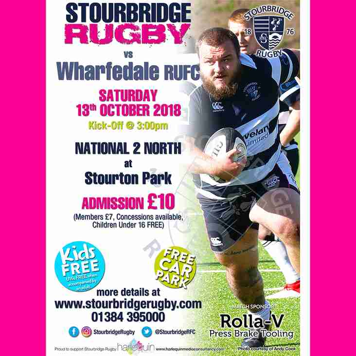 Stourbridge vs Wharfedale RUFC in National 2 North
