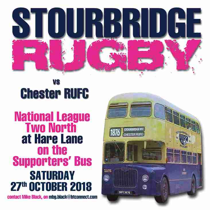 Supporters' Bus to Chester RUFC