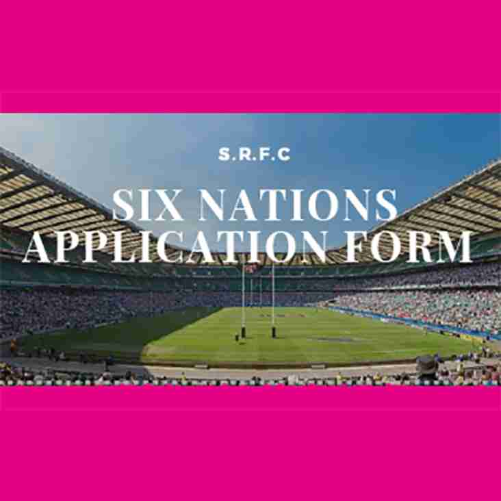 Six Nations Ticket Ballot 2019
