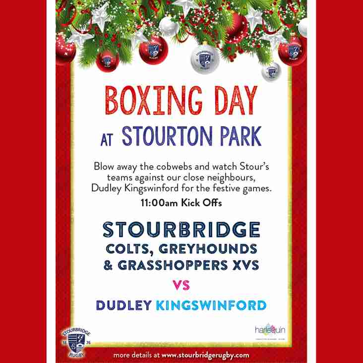 Boxing Day Games at Stourton Park