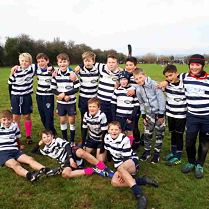 Stourbridge Under 11s Roar at Tigers!