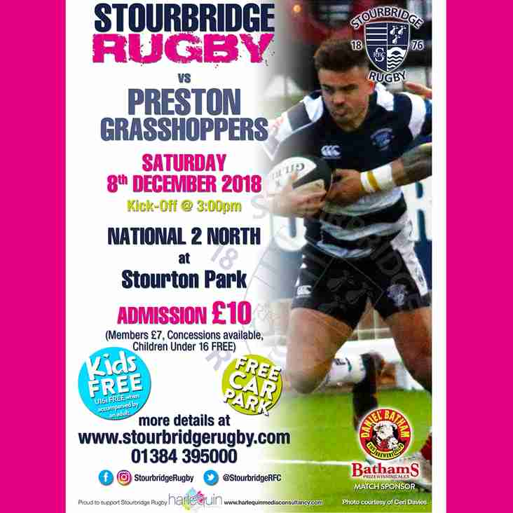 This Saturday for Stour's Teams