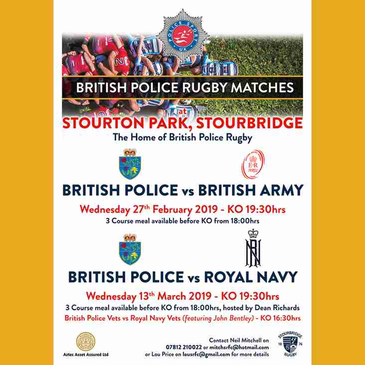 British Police Matches at Stourton Park 2019