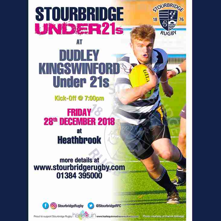 Stourbridge Under 21s at Dudley Kingswinford