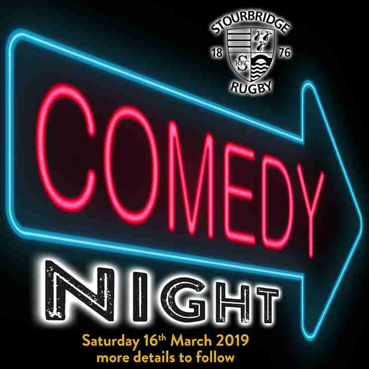 Stourbridge Rugby's Comedy Night