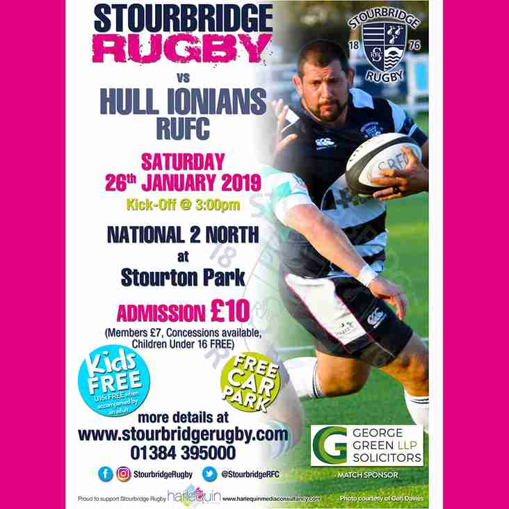 Stourbridge vs Hull Ionians RUFC