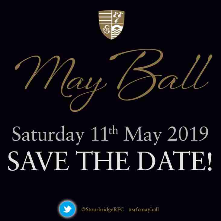 May Ball 2019 - SAVE THE DATE!