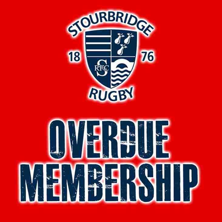 Overdue Membership