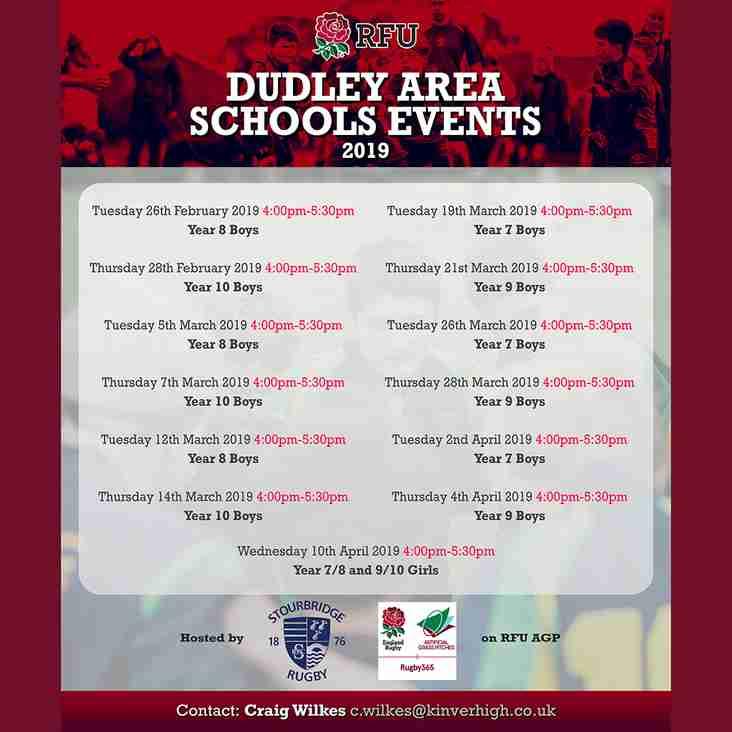 Dudley Area Schools Events at Stourton Park
