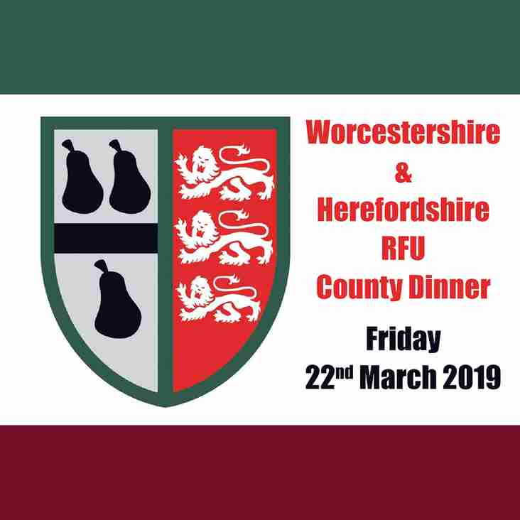 Worcestershire & Herefordshire County Dinner
