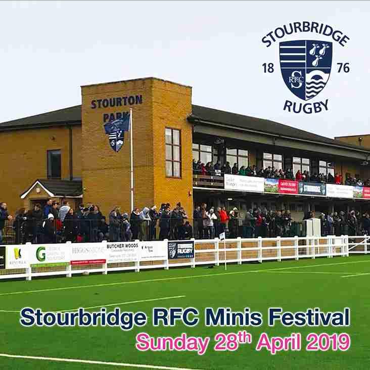 Stourbridge Rugby Minis Festival 2019