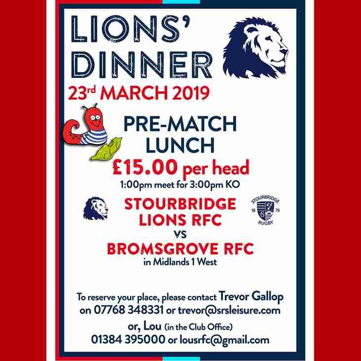 Lions' Dinner