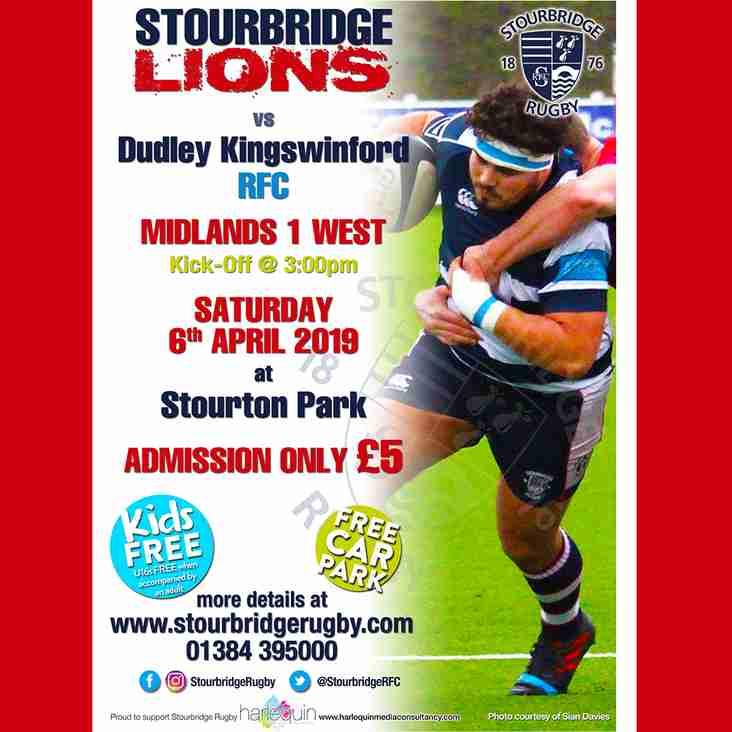 Stourbridge Lions vs Dudley Kingswinford