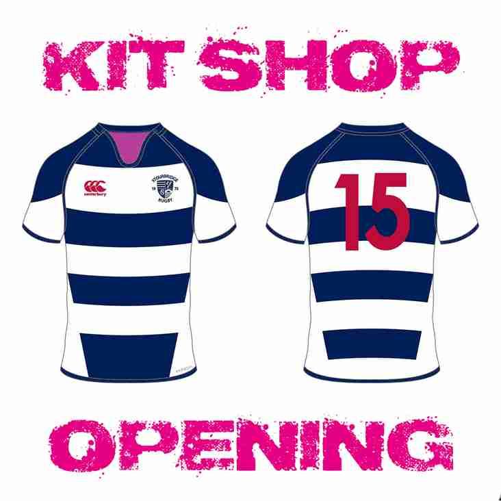 SRFC Kit Shop Opening