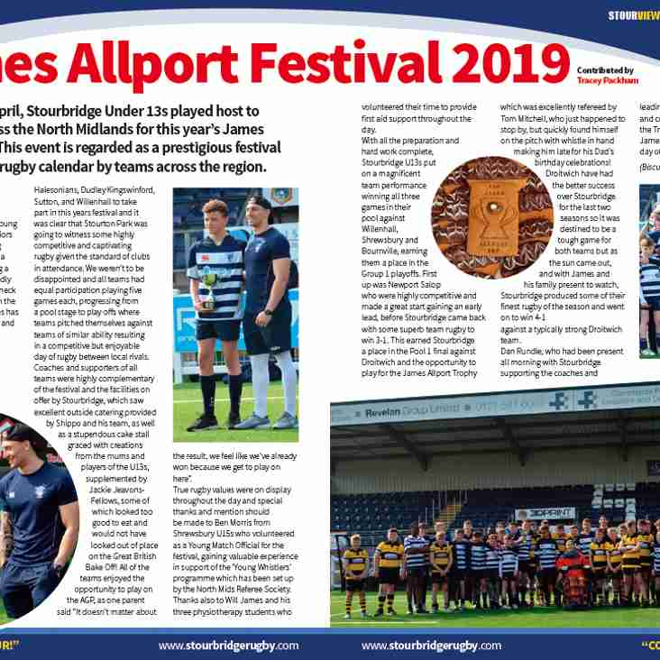 James Allport Festival 2019