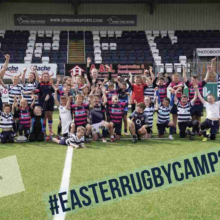 Easter Rugby Camp a great success!