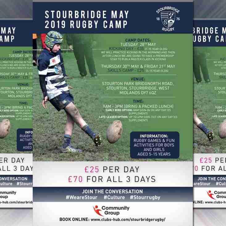 SRFC Whitsun Rugby Camp