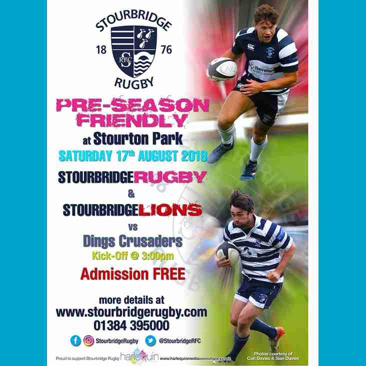 Pre-Season Friendly at Stourton Park