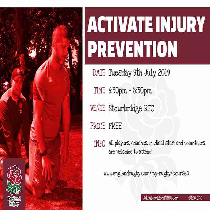 Activate Injury Prevention