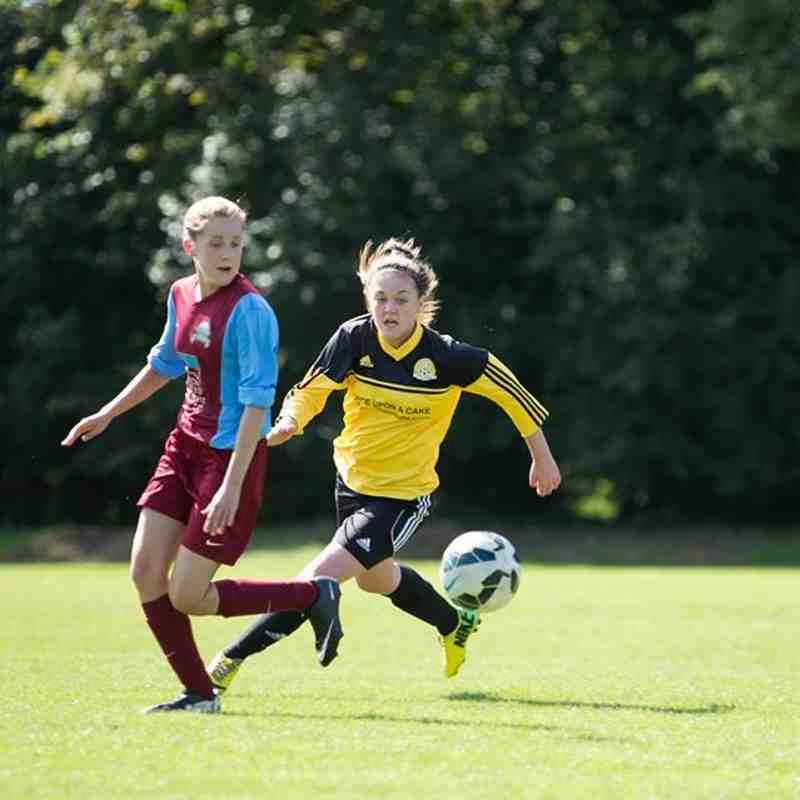 Ladies FA CUP at Great Shelford 6.9.15
