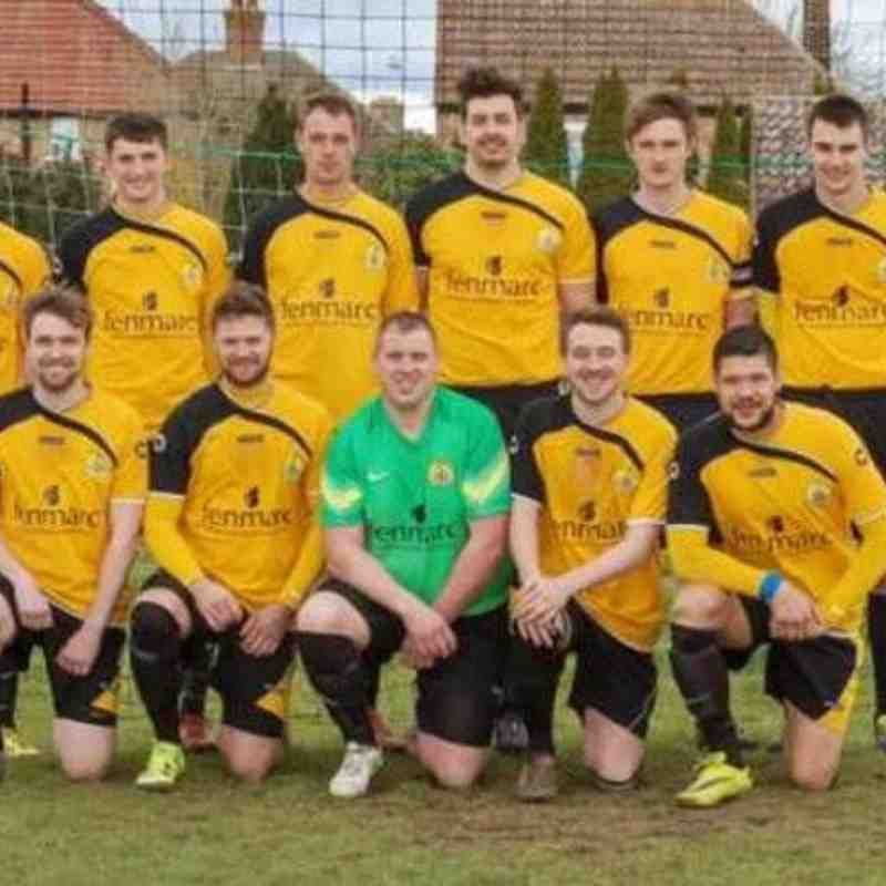 March Town First Team Easter Monday 2016