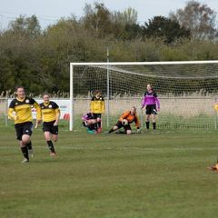 LADIES WIN 1-0 AT WISBECH ST MARY  1.5.16    photos by JON SHARPE