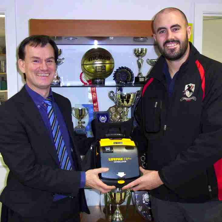 Defibrillator available for RRFC and Princes Risborough School
