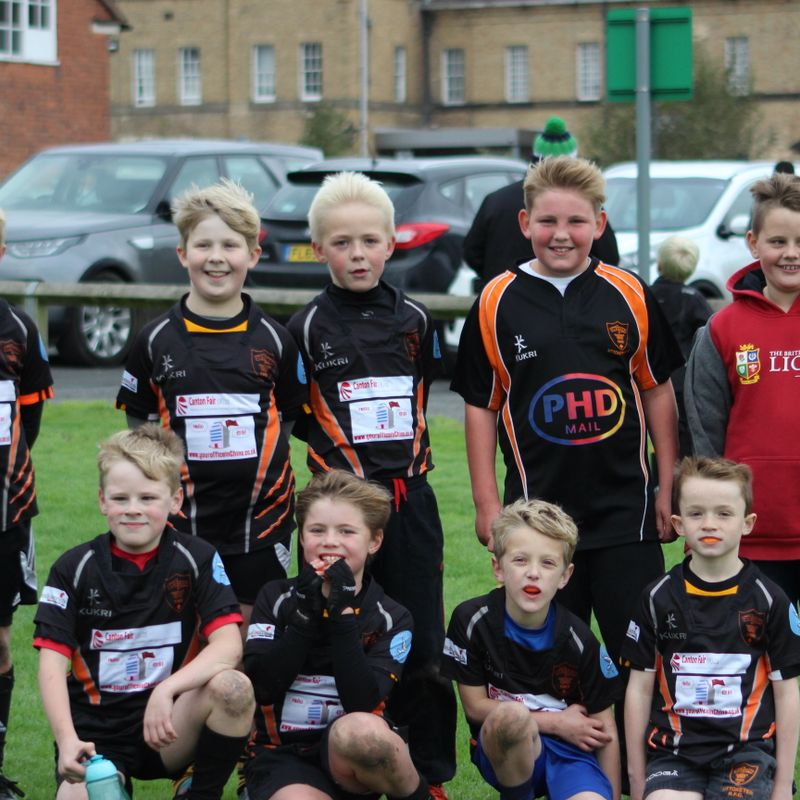 U9's prove their mettle against Longton