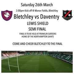 Lewis Shield Final
