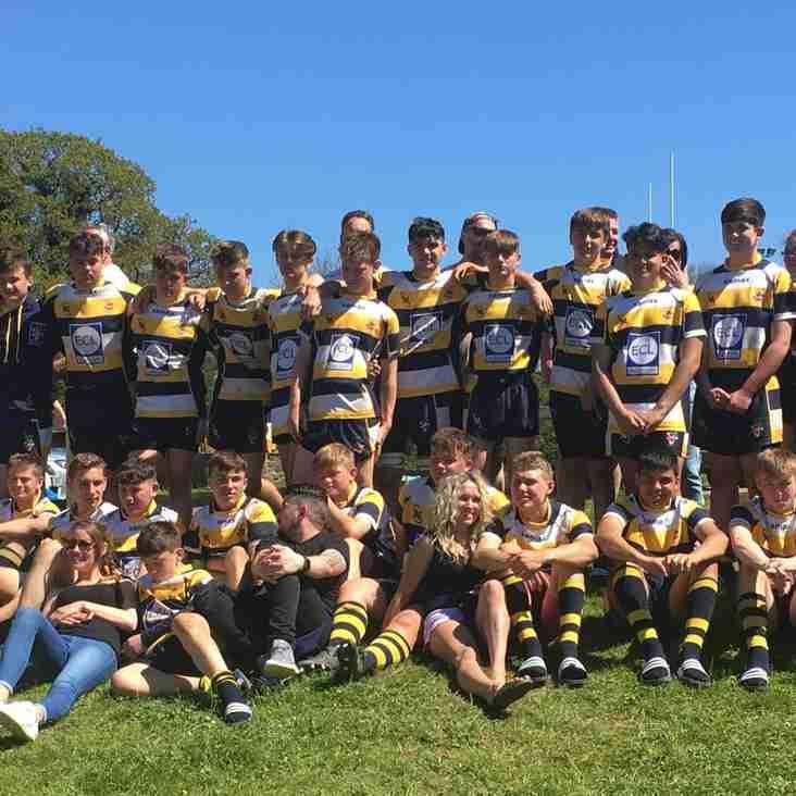 Devon 2018 u15's Rugby Tour
