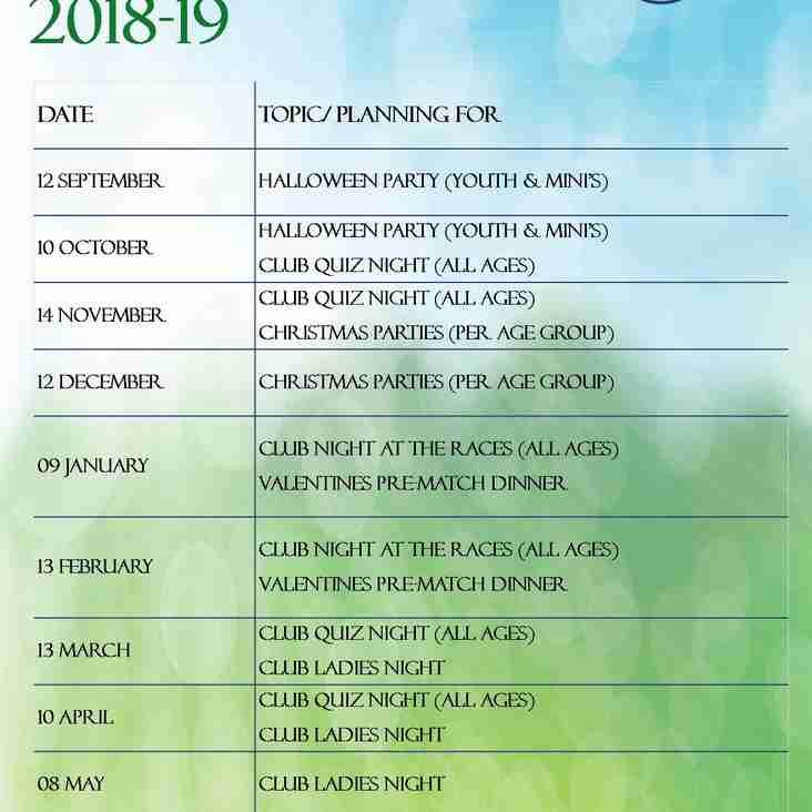 PCA Dates