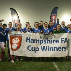 Portsmouth 6-3 Southampton Women (Hampshire Cup Final) 15/03/17