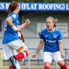 Portsmouth Ladies 2-1 West Ham United Ladies 24/09/17