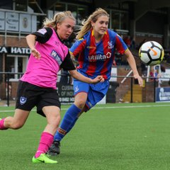 Portsmouth Ladies 0-2 Crystal Palace 01/10/17
