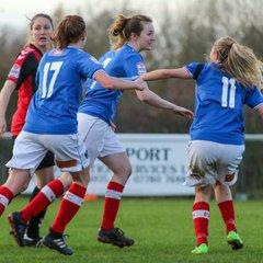 Portsmouth Ladies 3-2 Lewes Women 26/11/17
