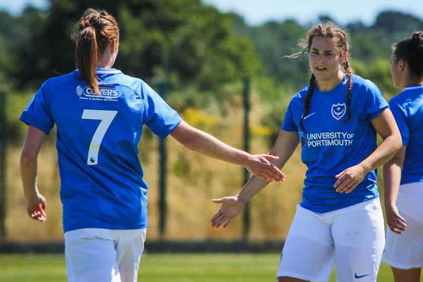 Portsmouth Ladies 8-1 AFC Bournemouth 22/07/18