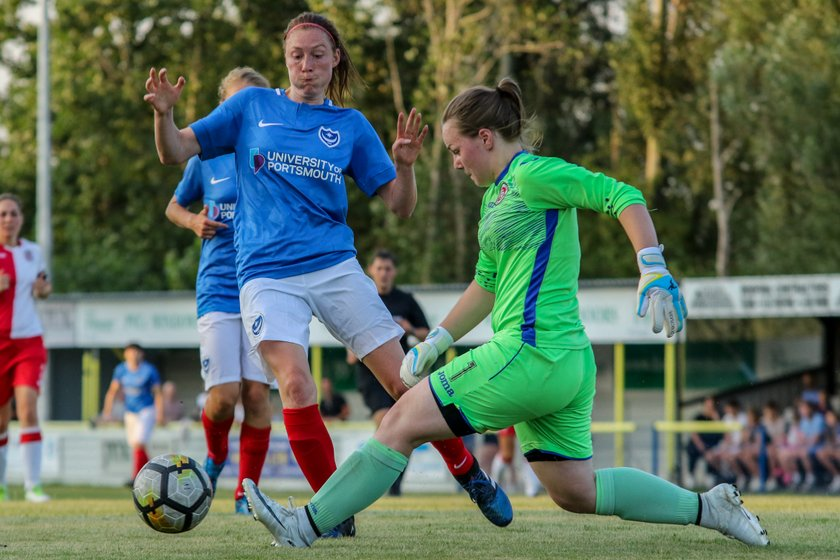 Portsmouth FC Women 8-0 Poole Town Ladies 25/07/18