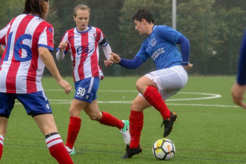 Portsmouth Women 3-2 Cheltenham Town Ladies 29/07/18
