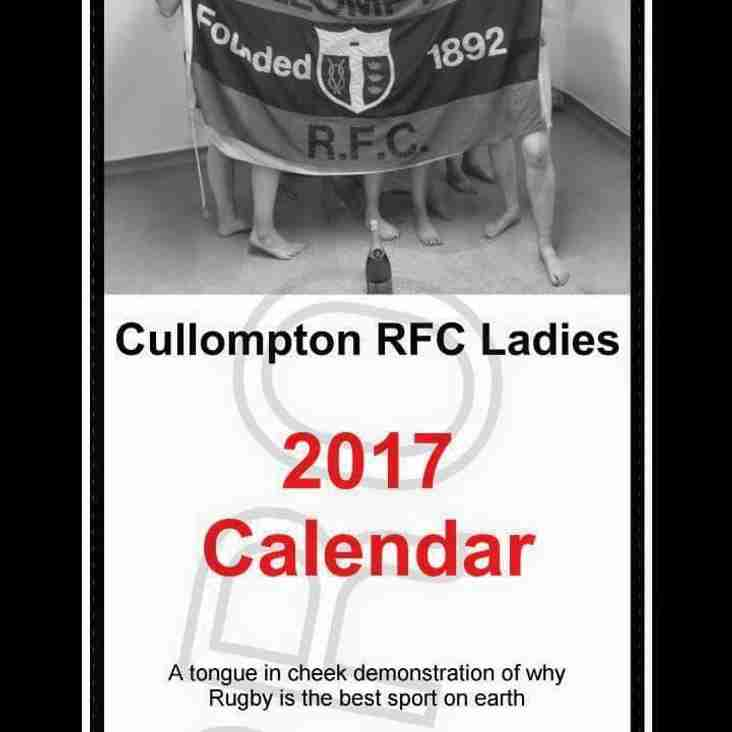 Cullompton RFC Ladies 2017 Calendar
