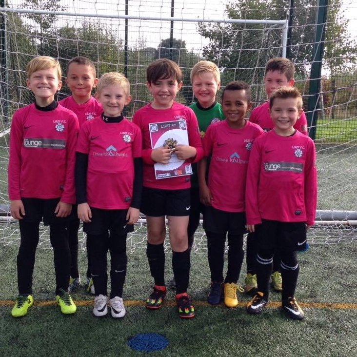 Under 9&#039;s play Horsforth St Margarets - Game 1<