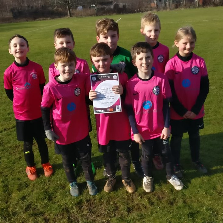 Great display from the Under 9&#039;s at Beeston<