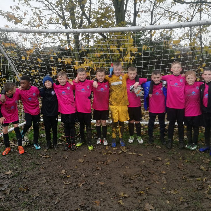 UNDER 11 PINKS IN DISTRICT CUP SEMI-FINAL THIS SUNDAY!!!<