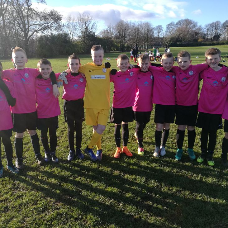U11 Pinks travel to FC Catalan<