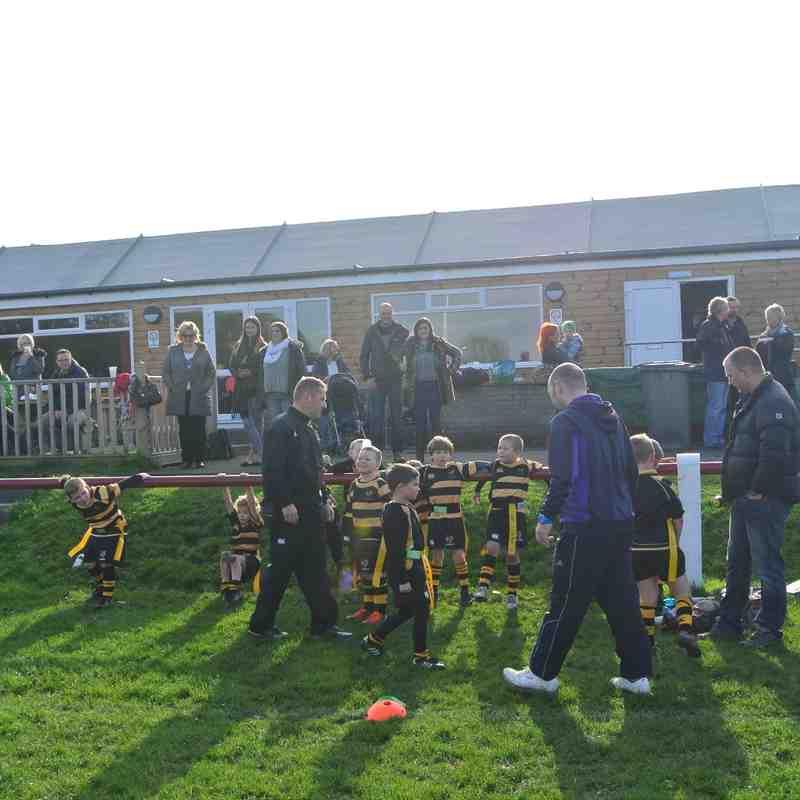 Under 7's Vale V Kendal Hornets