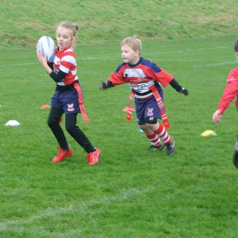 Under 7's Blackburn V Vale