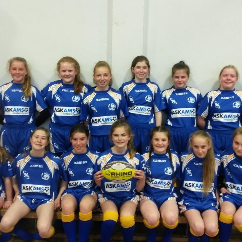 Under 12 Girls lose to East Leeds 0 - 48