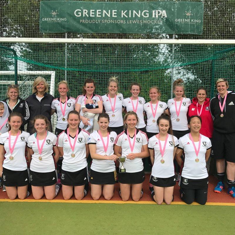 Ladies 1st Team beat Reading Ladies 2s 2 - 4